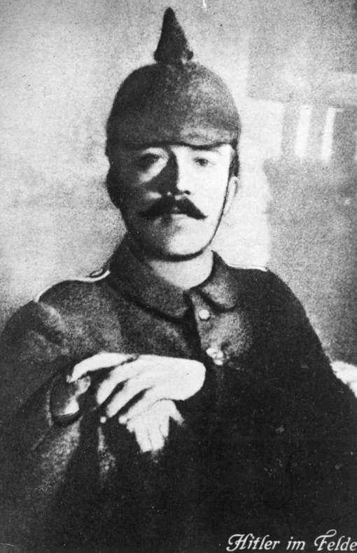 Hitler tijdens WOI, Getty