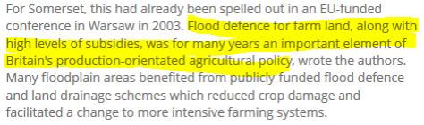 voedselveiligheid is vrij belangrijk, die subsidies kun je vragen bij stellen