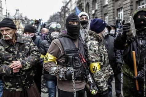 neo-nazi's bij de protesten in oekraine