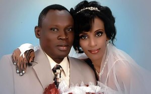 Meriam Ibrahim and her husband Daniel Wani