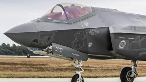 © anp. Een F-35 straaljager.