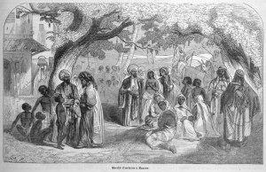 oman-13 Slave Market, Muscat Oman, 1840s_jpg