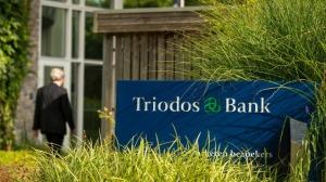 Beeldset Triodos Bank Zeist: exterieurfoto van de bank.